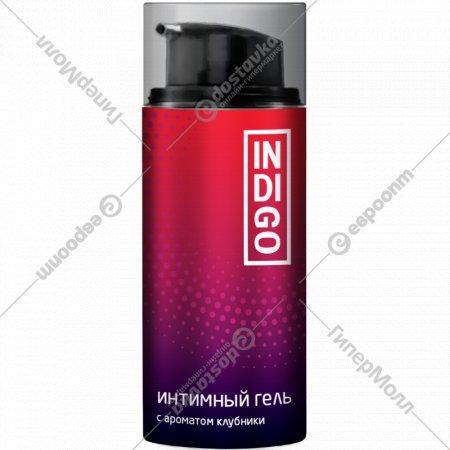 Гель для интимного ухода «Indigo» с ароматом клубники, 120 мл.