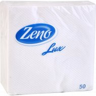 Салфетки «Zeno Lux» белые 50 шт.