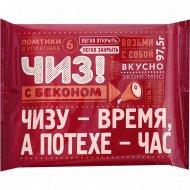 Продукт плавленный с сыром и беконом 45%, 97.5 г.