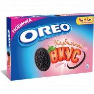 Печенье «Oreo» с какао и клубникой, 228 г.