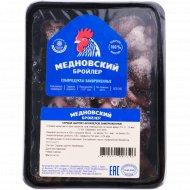 Сердце цыплят-бройлеров «Медновский бройлер» замороженное, 450 г.