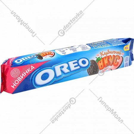 Печенье «Oreo» клубничный вкус, 95 г.