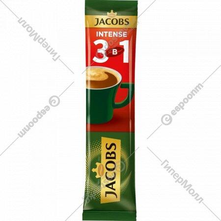 Напиток кофейный «Jacobs» интенс 3 в 1, 12 г.