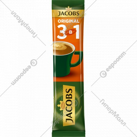 Напиток кофейный «Jacobs» ориджинал, 3 в 1, 12 г.