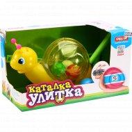 Игрушка-каталка «Улитка» 01359.