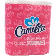 Полотенца бумажные «Camilla» двухслойные, 2 рулона