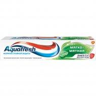 Зубная паста «Aquafresh» Мягко-Мятная 100 мл.