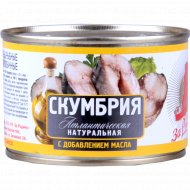 Рыбные консервы «За Родину» скумбрия, 250 г.