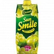 Нектар «Sun smile» яблочно-виноградный, 750 мл.