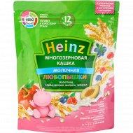 Каша многозерновая йогуртная «Heinz» Любопышки, 200 г.