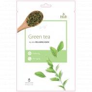 Успокаивающая маска «HNB» зеленый чай, 21 мл