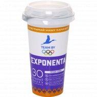 Напиток кисломолочный «Exponenta» груша-слива, 250 г.