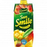 Напиток «Sun smile» из персика и манго, 750 мл.