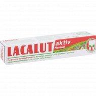 Зубная паста «Lacalut» aktiv herbal, 50 мл