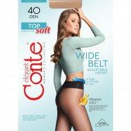 Колготки женские «Conte» Top Soft, 40 den, размер 3, mocca