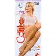 Гольфы женские «Conte»Tension Soft, 40 den, 1 пара.
