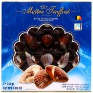 Конфеты шоколадные «Дары моря» с ореховой начинкой, 250 г.