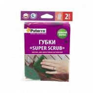 Губка «Super Scrab» для сверхстойких загрязнений, 2 шт.