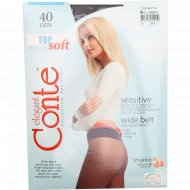 Колготки женские «Conte» Top Soft, 40 den, размер 4, grafit