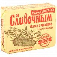 Маргарин «Жировой комбинат» Саратовский, со сливочным вкусом, 60%, 150 г