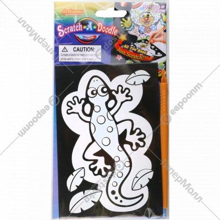 Игрушка-набор «Гравюра-сюрприз» для детского творчества.