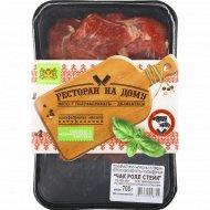 Полуфабрикат из говядины «Чак Ролл Стейк» охлажденный, 700 г.