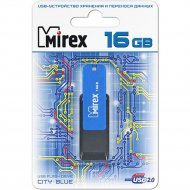 USB флэш-накопитель «Mirex» City blue, 16GB.