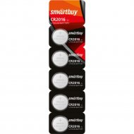 Элемент питания «Smartbuy» CR2016, 1 шт.