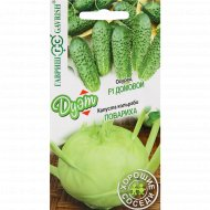 Семена капусты кольраби+ семена огурца