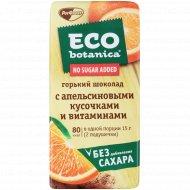 Шоколад горький «Eco-botanica» с апельсиновыми кусочками, 90 г.