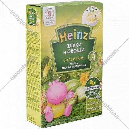 Каша рисово-пшеничная «Heinz» с кабачком, 200 г.