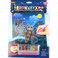 Игрушка-набор для детского творчества из блесток.