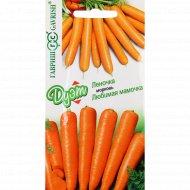 Семена моркови «Дуэт Леночка и Любимая мамочка».
