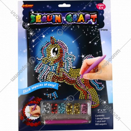 Игрушка-набор для детского творчества из блесток