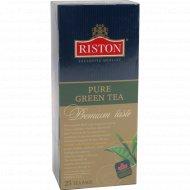 Чай «Riston» зеленый, 25 пакетиков, 50 г.