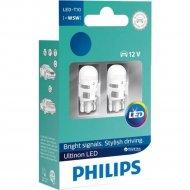 Комплект автоламп «Philips» W5W 11961ULW4X2, 2 шт