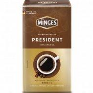 Кофе натуральный молотый с кофеином «Minges President» 500 г.