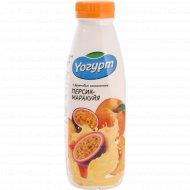Йогурт «Персик-маракуйя» 2%, 450 г.