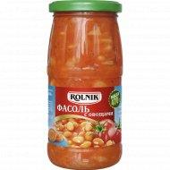 Фасоль с овощами «Rolnik» 470 г