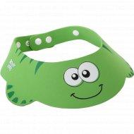Козырек защитный «Зеленая ящерка» для мытья головы.