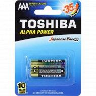 Элемент питания «Toshiba» LR03GCH BP-2 super alkaline, 2 шт.