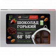 Горький шоколад «Томер Expert» 68%, без сахара, 1000 г