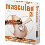 Презервативы «Masculan» Ultra 3, продлевающие, №3
