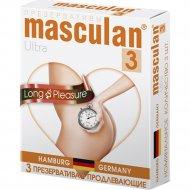 Презервативы «Masculan» ultra 3, продлевающие, 3 шт.