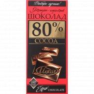 Шоколад «Идеал» экстра-горький, 80%, 100 г.
