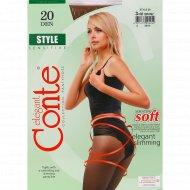 Колготки женские «Style» 20 den, bronz.