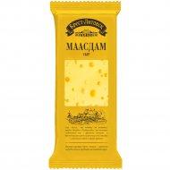 Сыр полутвёрдый «Брест-Литовск» Маасдам, 45 %, нарезка-брусок, 240 г.
