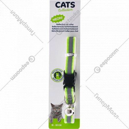 Ошейник для кота светоотражающий, 30 см.