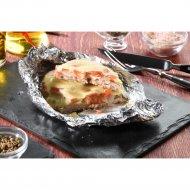 Свинина запеченная с томатом и сыром моцарелла, 150 г.