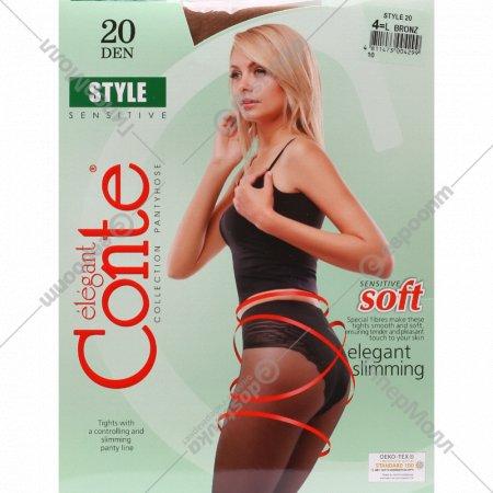 Колготки женские «Conte» 4 bronz 20 den.